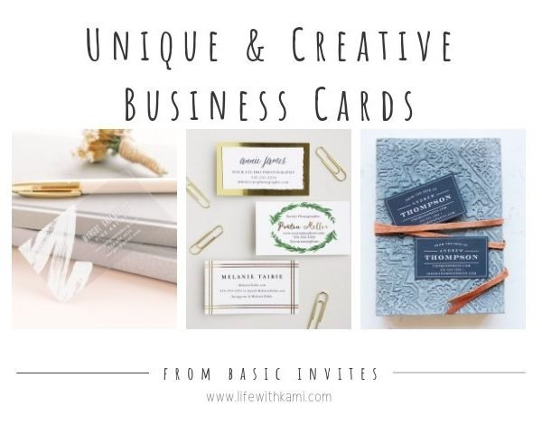 Unique & Creative Business Cards That Will Make You (And Your Brand) Stand Out – Basic Invite Review
