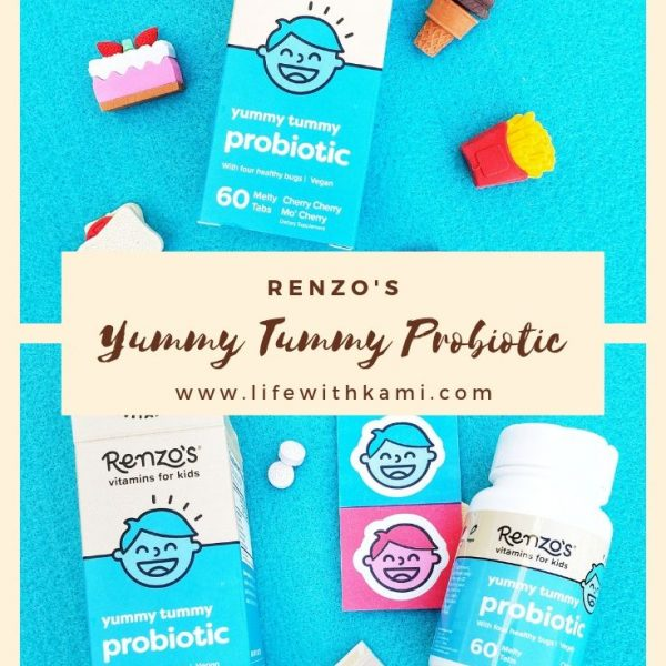 Renzo's Probiotic vitamins for kids