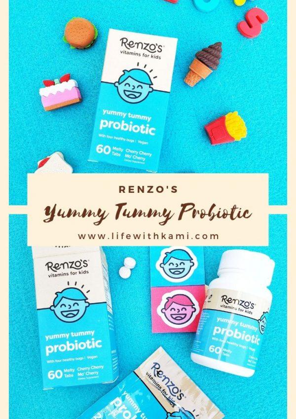 Renzo's Probiotic vitamins for kids
