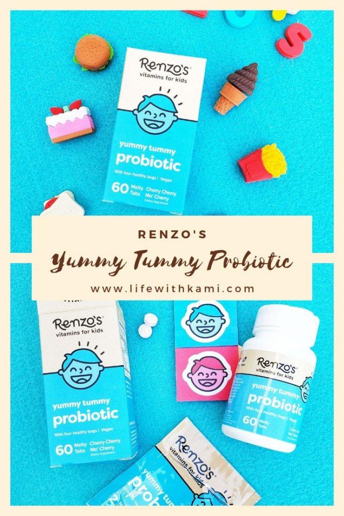 Renzo's yummy tummy probiotic