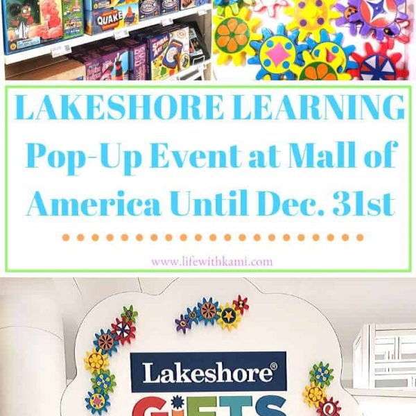 Lakeshore Learning Pop Up Event at MOA