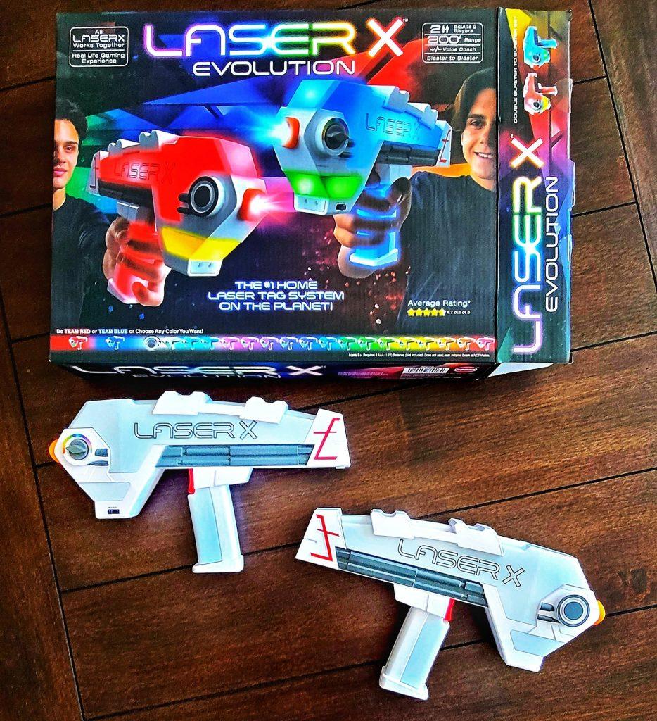 Laser X unboxing
