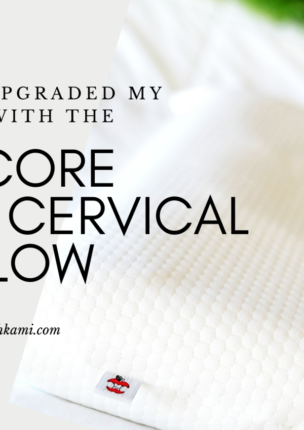 How I've upgraded my sleep with the Tri-Core Ultimate Cervical Pillow