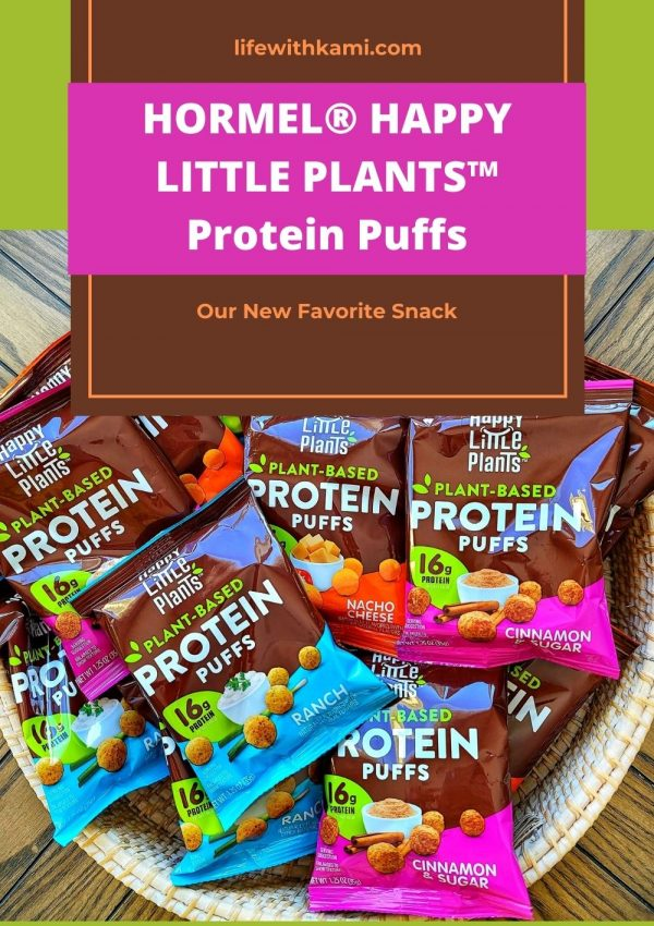 HORMEL® HAPPY LITTLE PLANTS™ Protein Puffs – Our New Favorite Snack