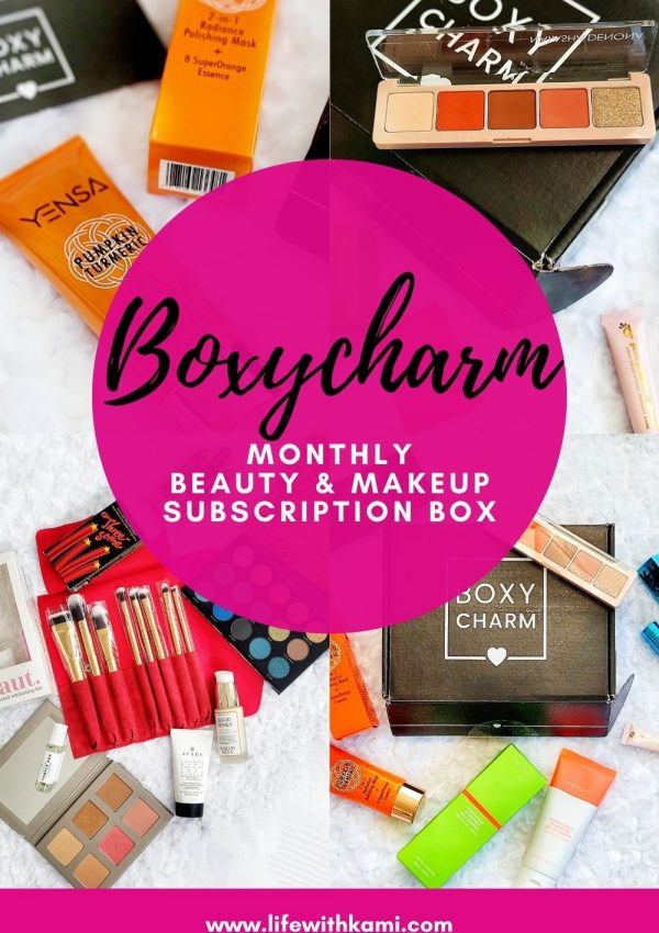 BOXYCHARM: Monthly Beauty & Makeup Subscription Box