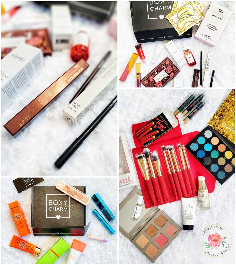 MAKEUP AND BEAUTY SUBSCRIPTION BOX FROM BOXYCHARM