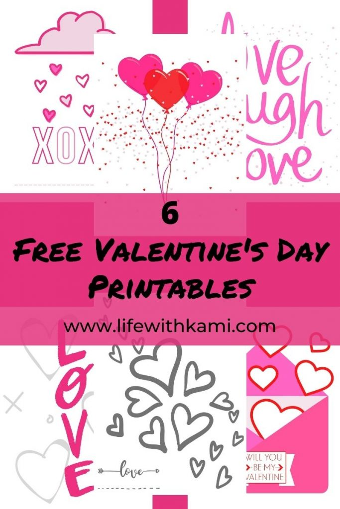 6 FreeValentine's Day Printables