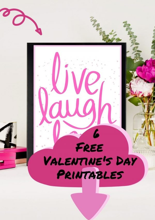 6 Free Valentine's Day Printables