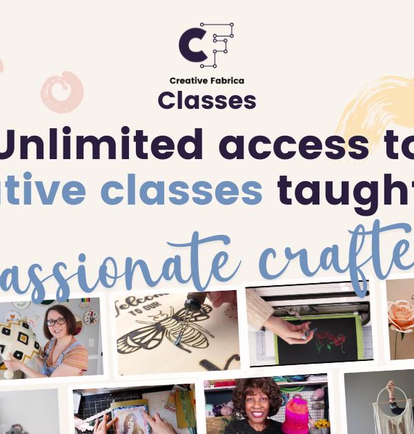 Introducing Creative Fabrica Classes